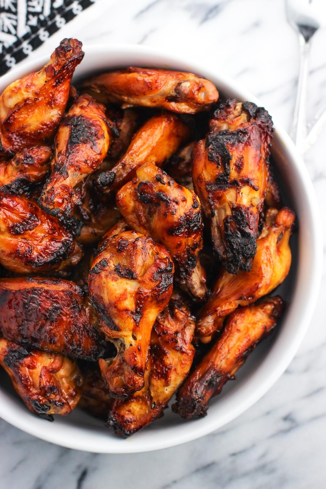 Spicy Soy Glazed Chicken Wings
