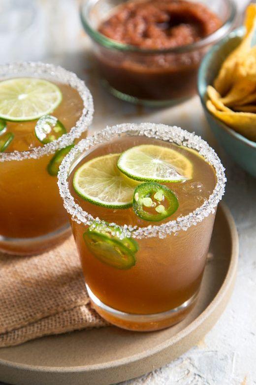 Jalapeno Lime Margarita