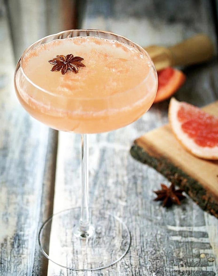 Grapefruit Ginger Martini