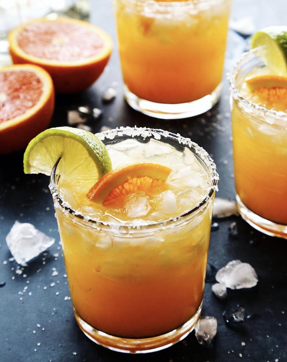 Cara Cara Orange Lime Margarita