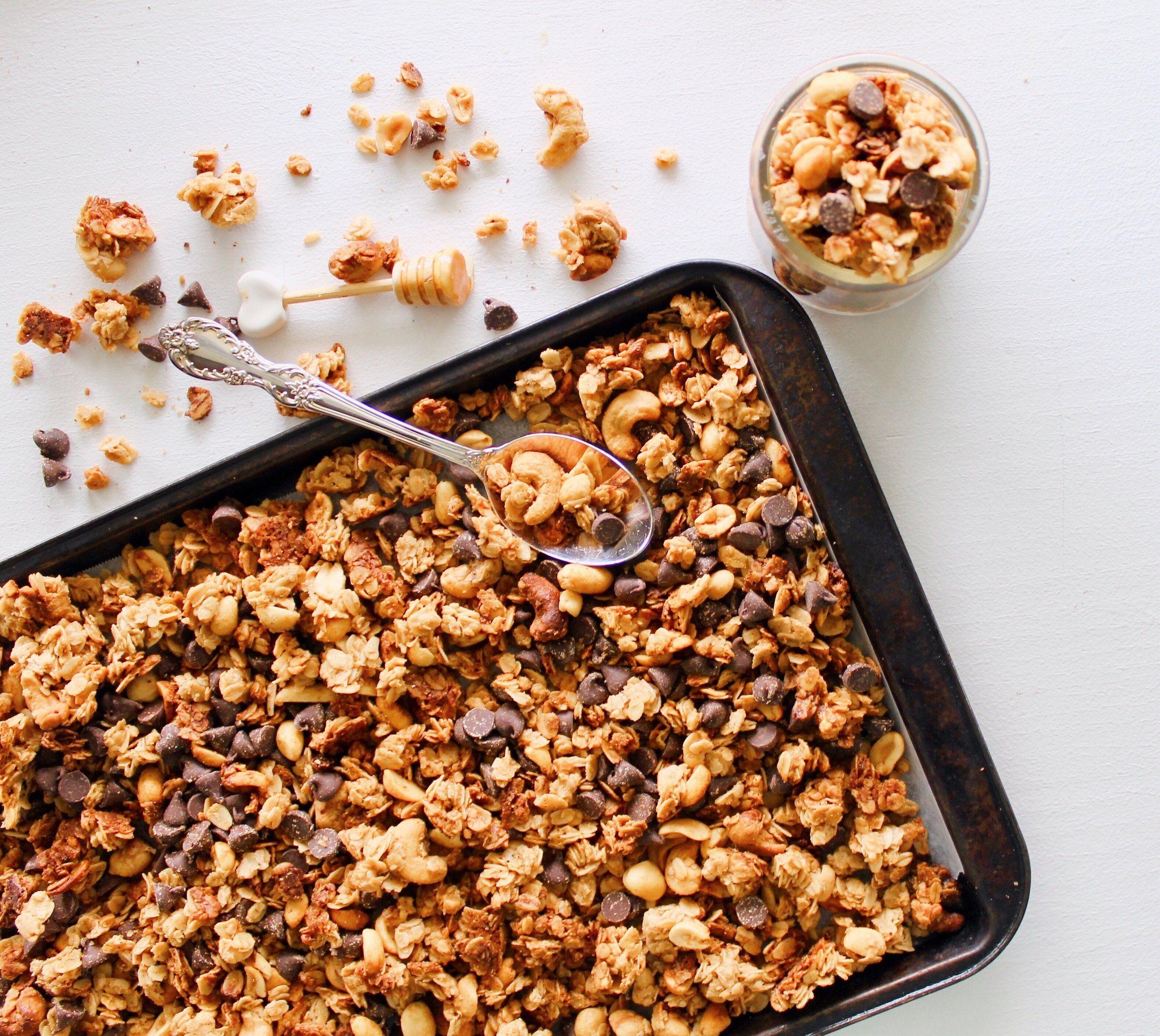 Honey Peanut Butter Granola