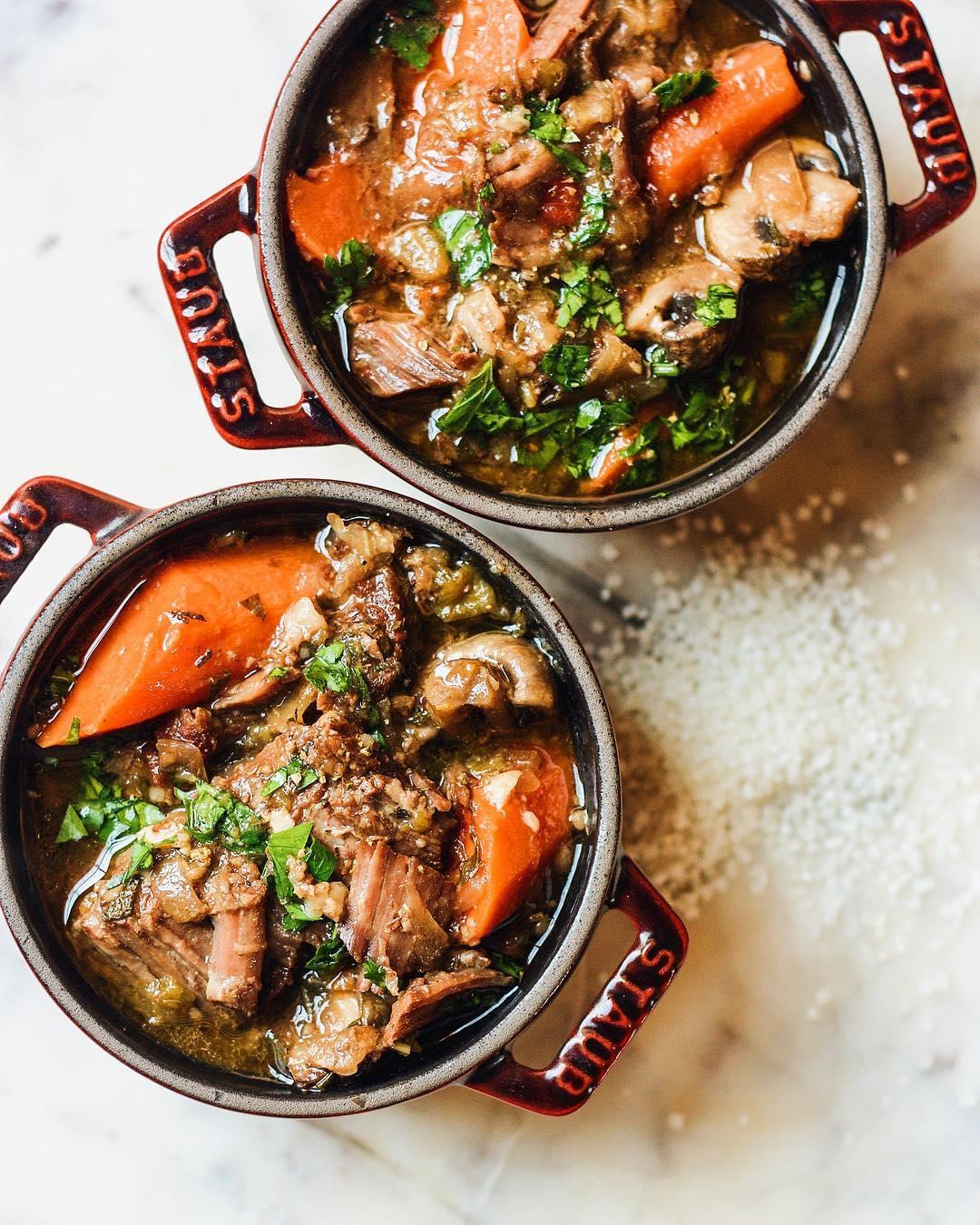 Short Rib Lager Stew