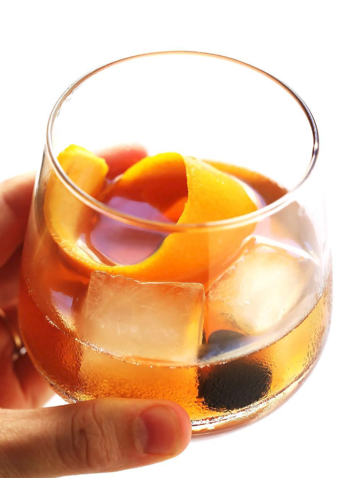 Old Fashioned with Maple Syrup