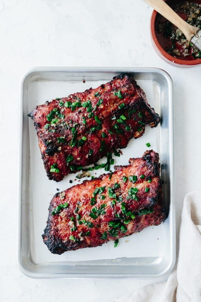 Grilled Lemongrass Pork Ribs