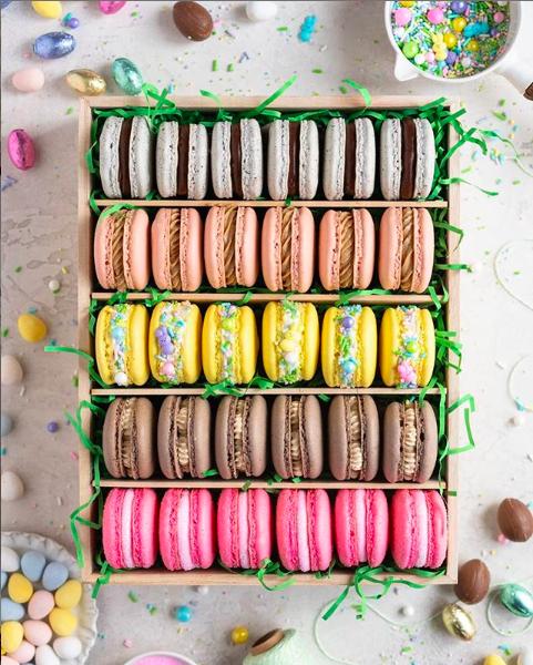 Macaron Box for Easter