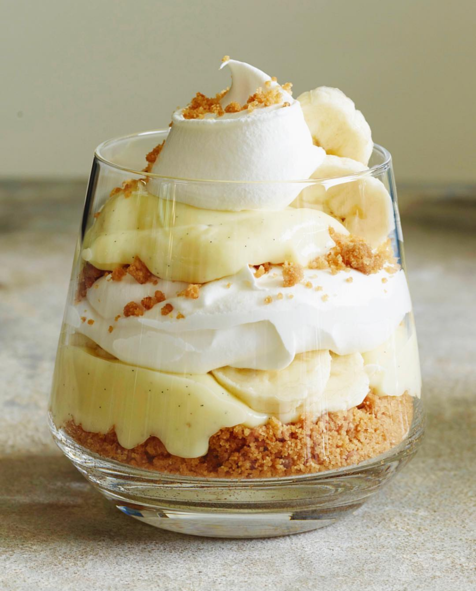 Banana Cream Pie Vanilla Parfaits
