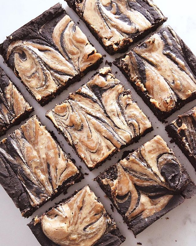 Fudgy Almond Butter Brownies