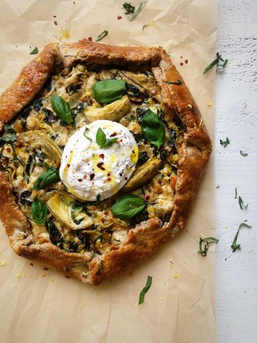 Savory Basil Ricotta And Zucchini Galette Recipe The Feedfeed