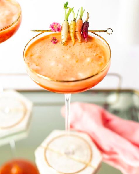 Carrot Ginger Cocktail