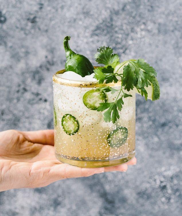 Cilantro Jalapeno Margaritas