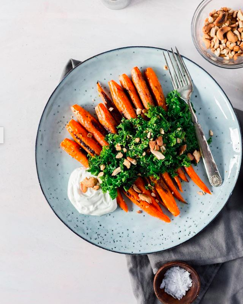 Za'atar Roasted Carrots