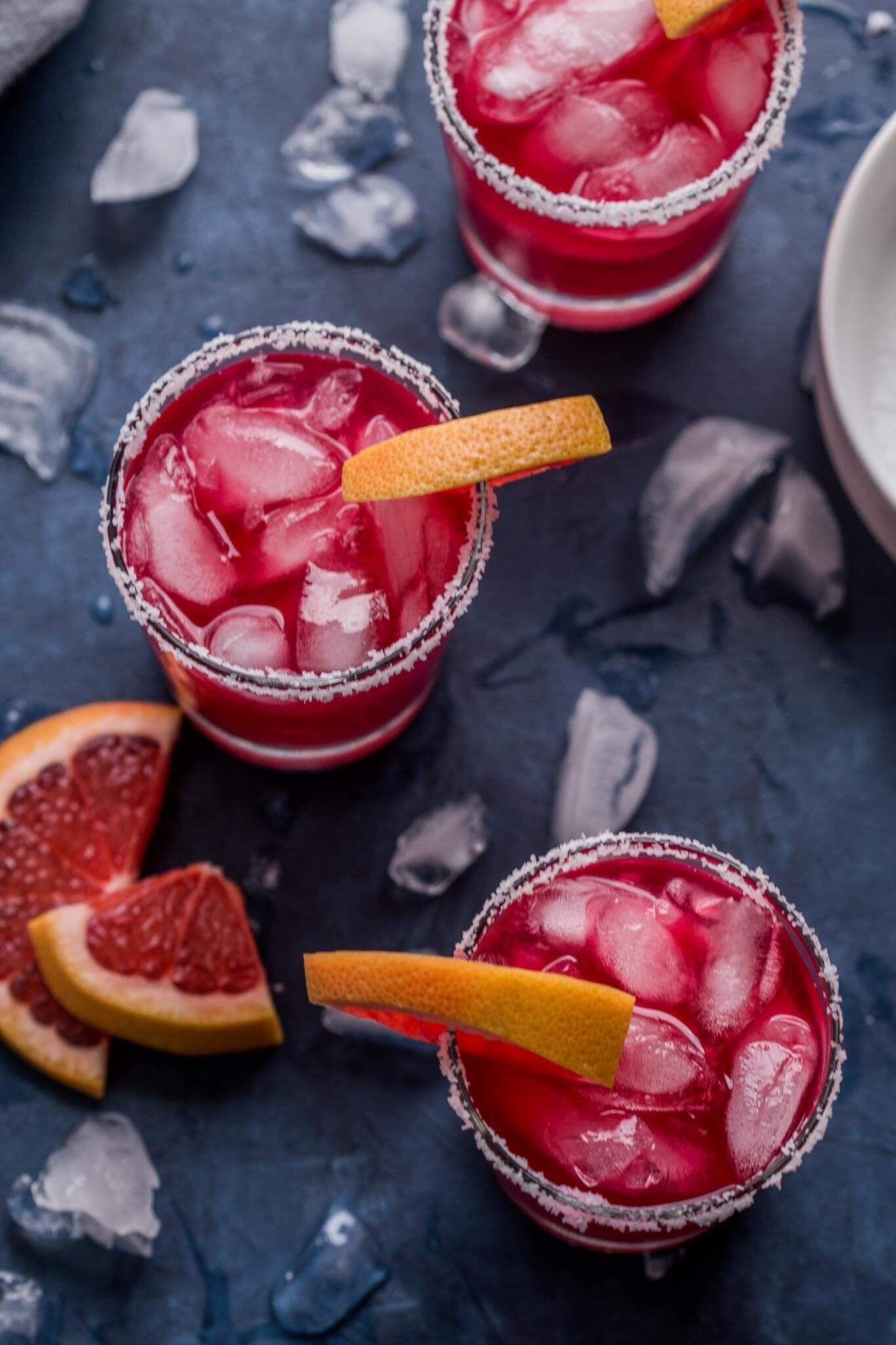 Hibiscus Grapefruit Margarita