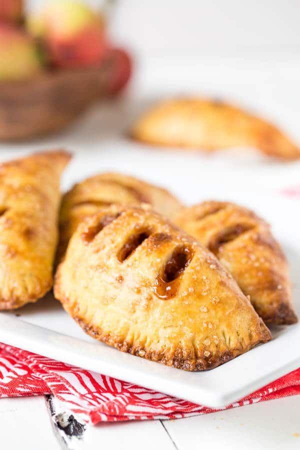 Mini Hand Apple Pies