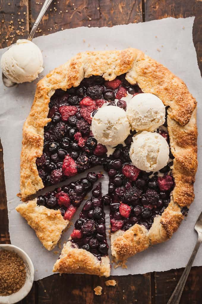 Flaky Berry Tart