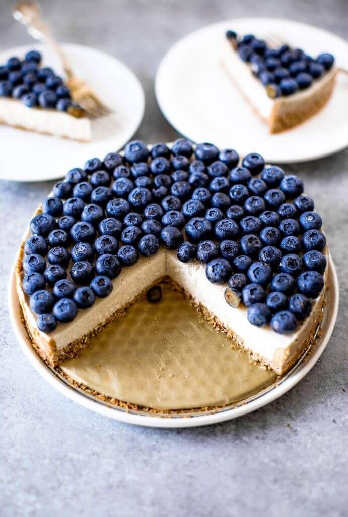 Blueberry Coconut Cream Pie