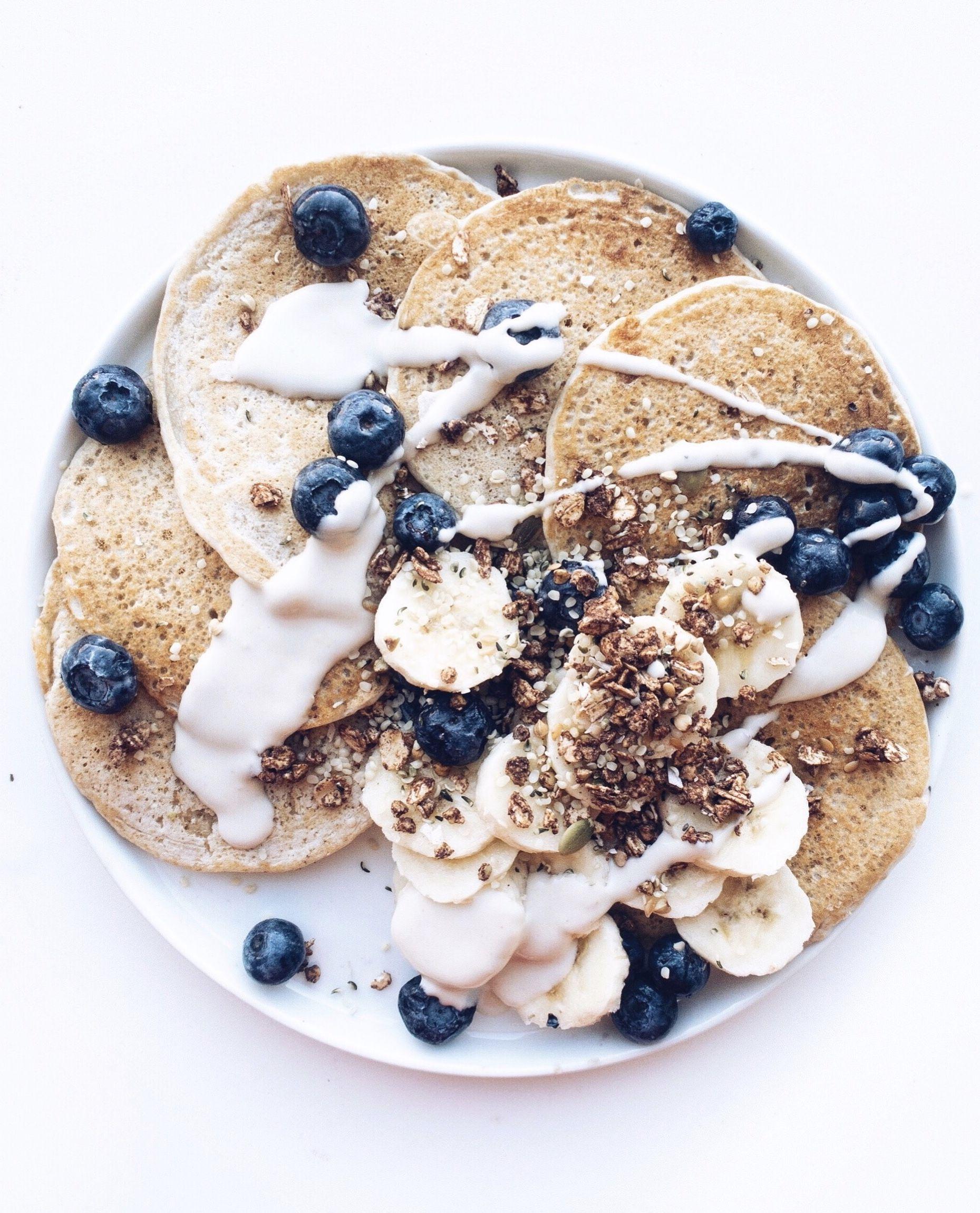 Vanilla Blender Pancakes