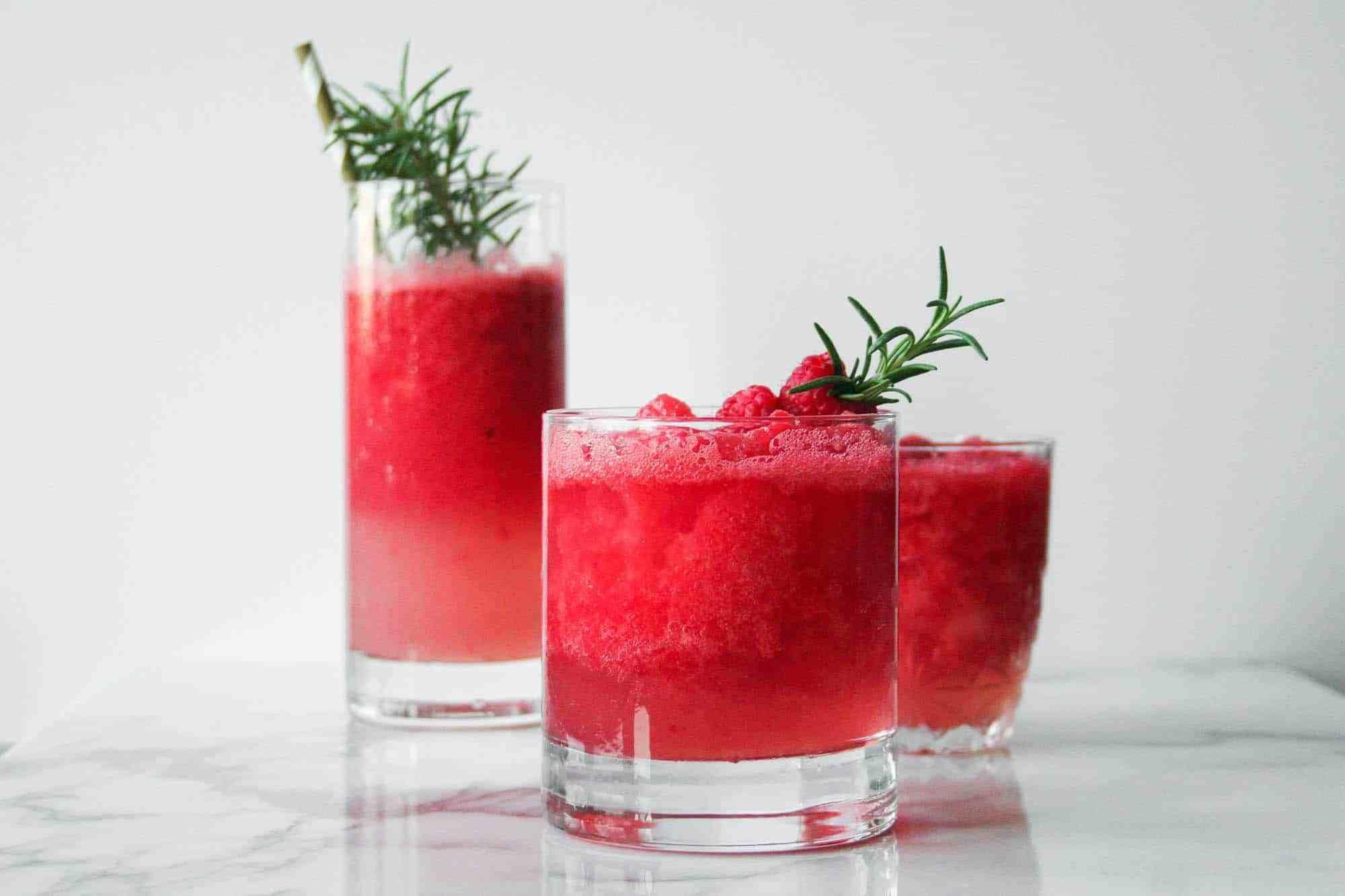 3-Way Frozen Watermelon Cocktails