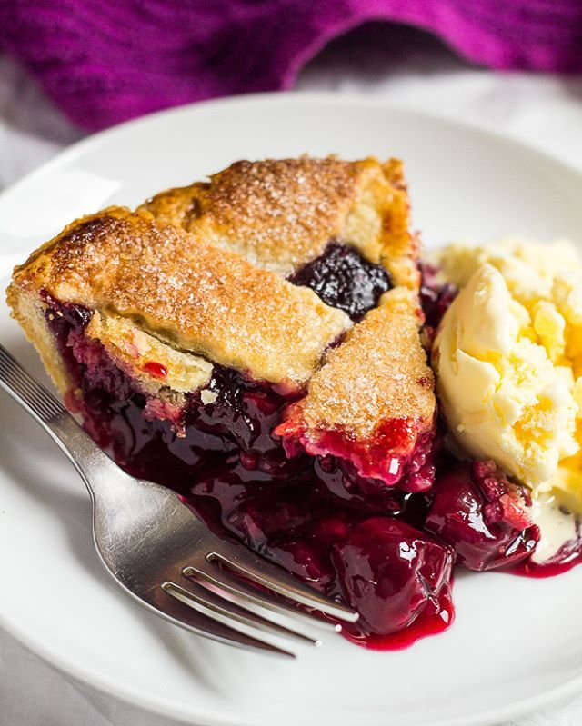Summer Cherry Pie