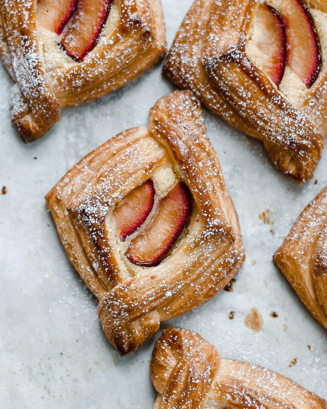 Fruit Danishes Sourdough Pastry
