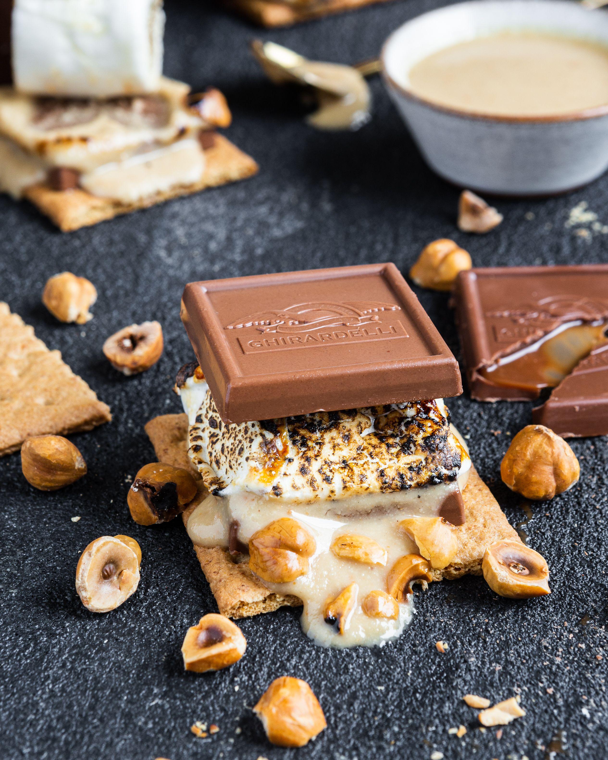 Chocolate-Hazelnut S'mores