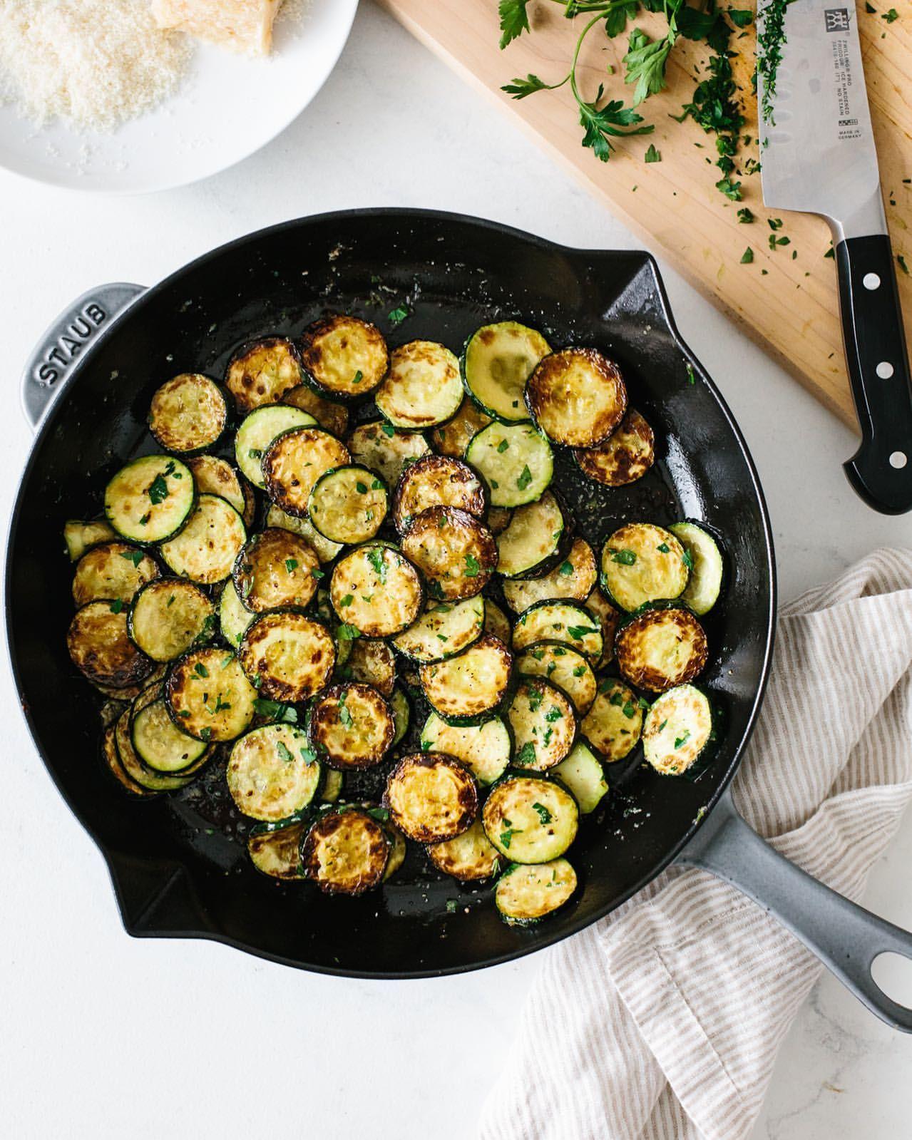 Parmesan Truffle Zucchini