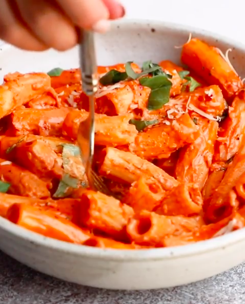 Spicy Vodka Rigatoni