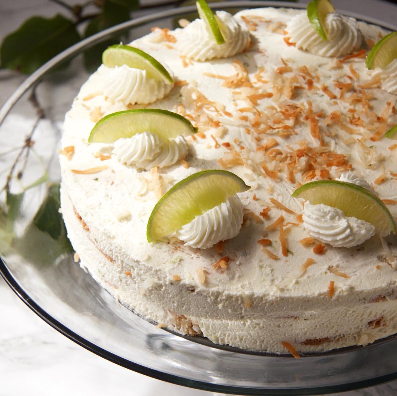 Coconut Key Lime Icebox Cake
