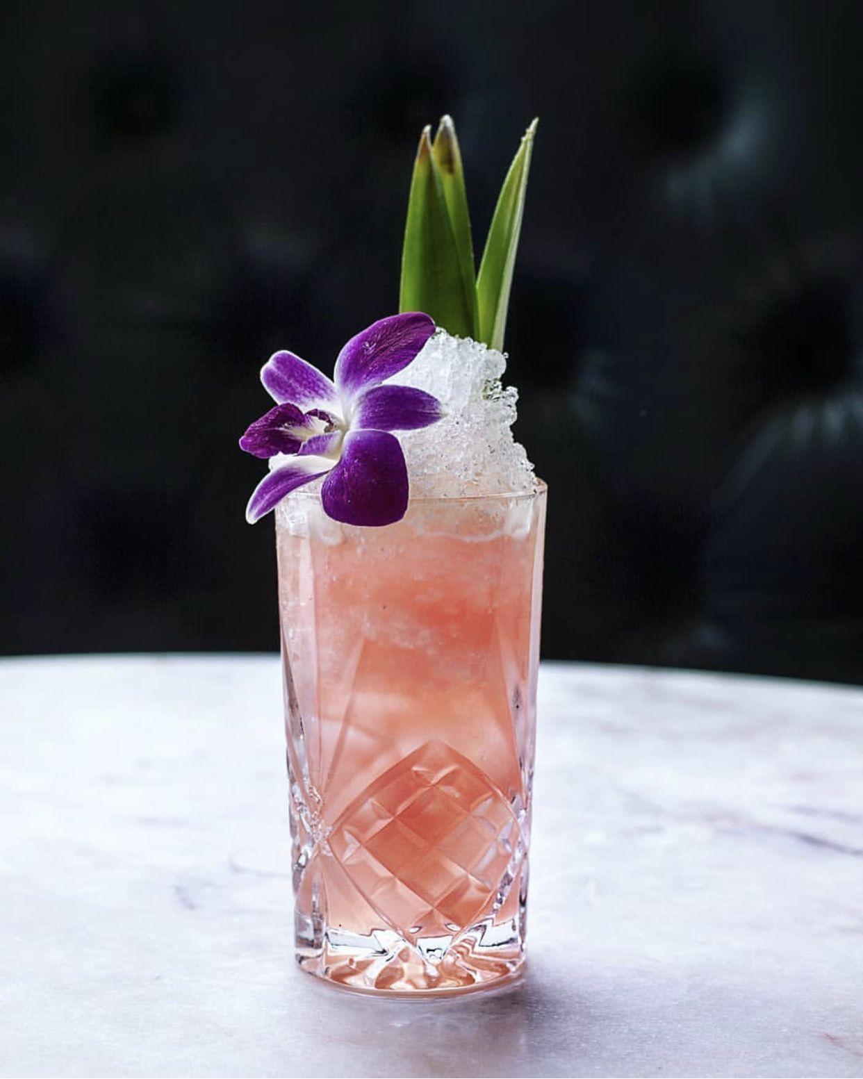 Lanikai Sunset Pisco Cocktail