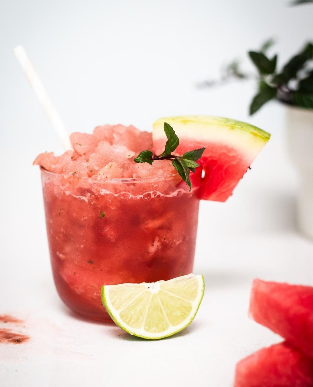 Watermelon Mint Slushy