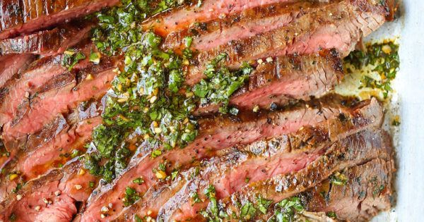 Citrus Herb Marinated Flank Steak