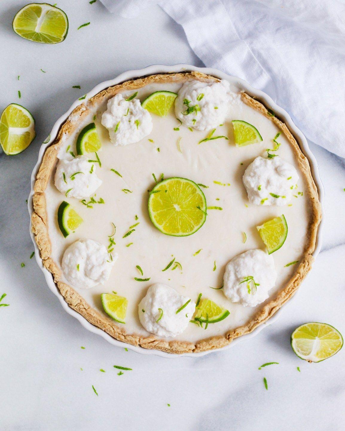 Key Lime Coconut Pie