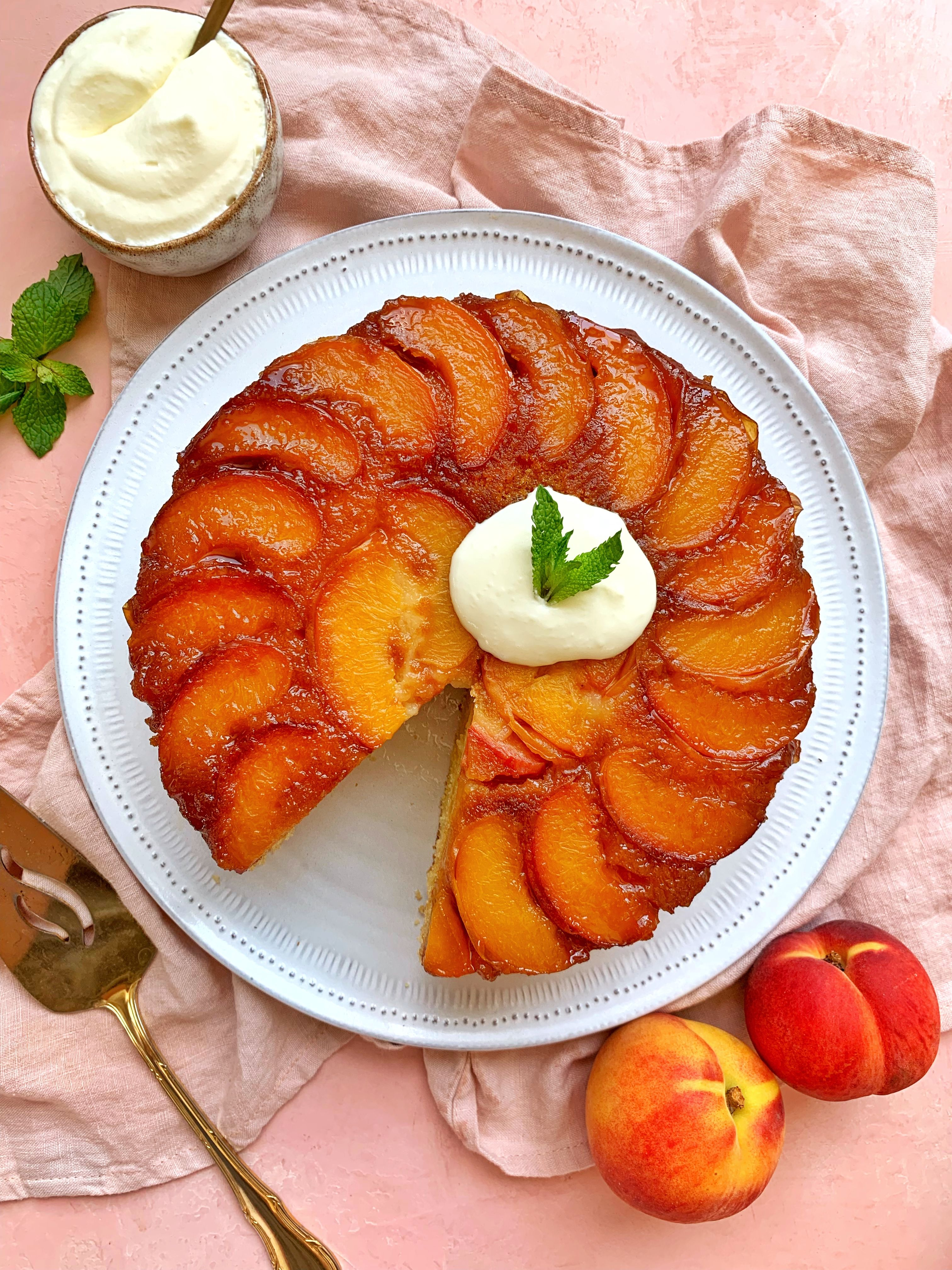 The Ultimate Upside Down Cake