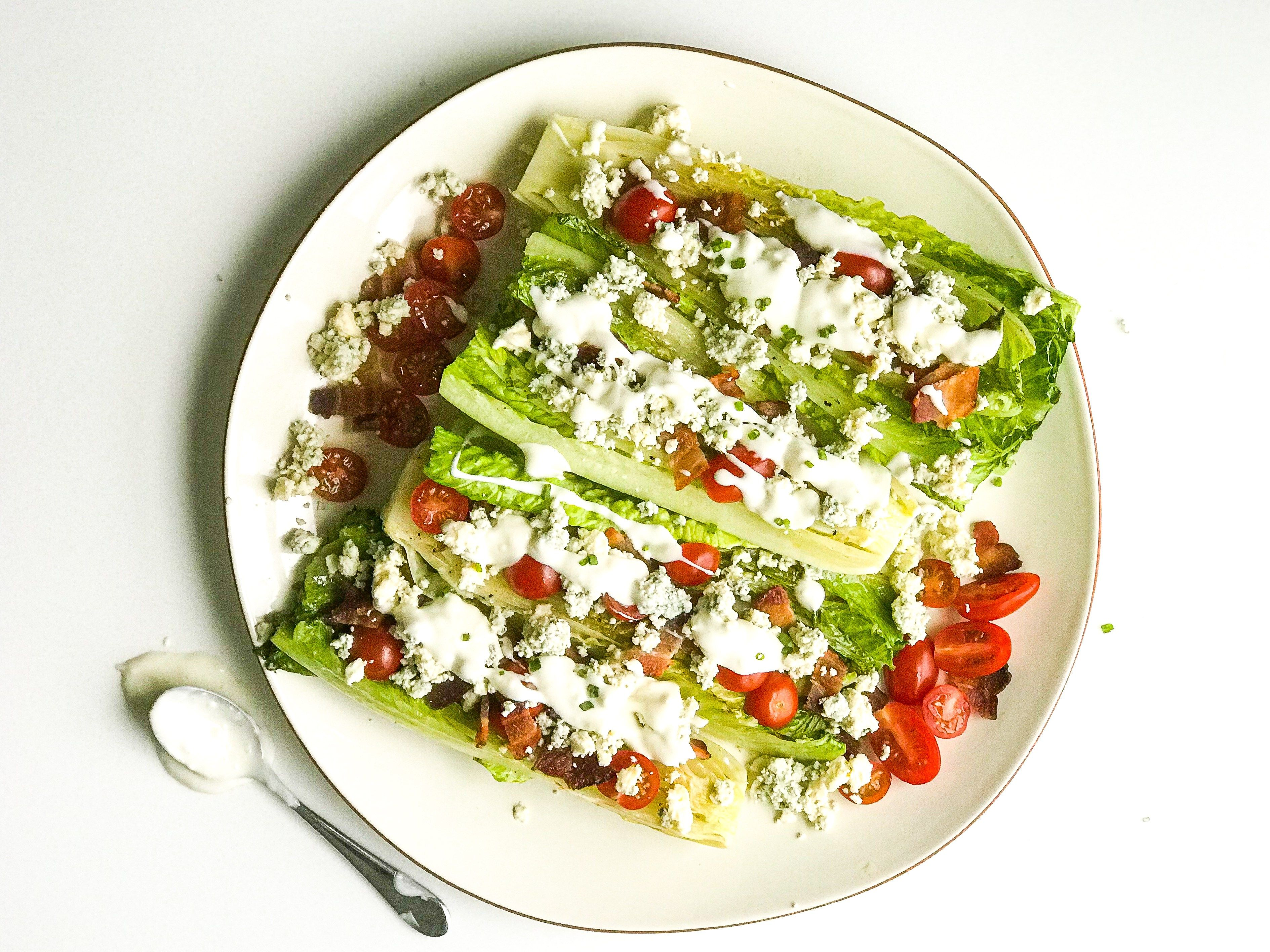 Grilled Salad Boats