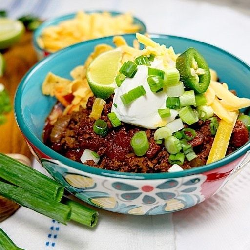 Spicy Beef and Bacon Chili