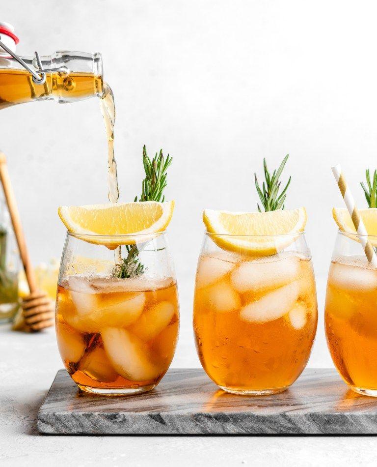Rosemary Honey Iced Tea