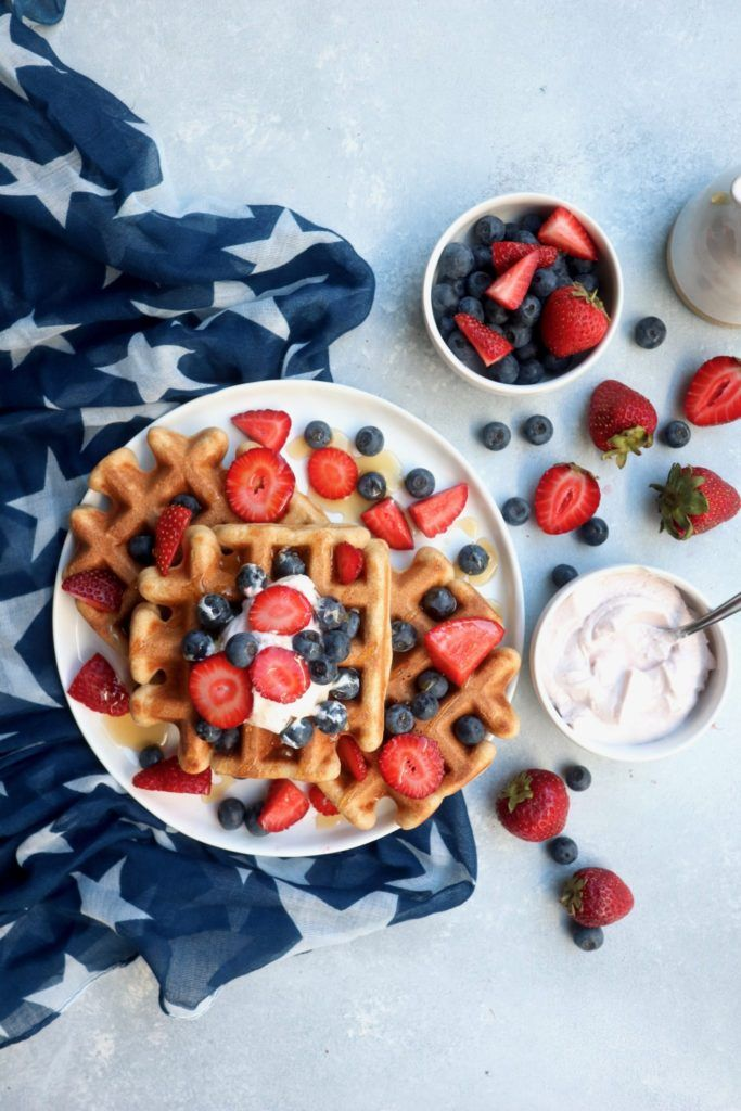 6-ingredient waffles | cait's plate