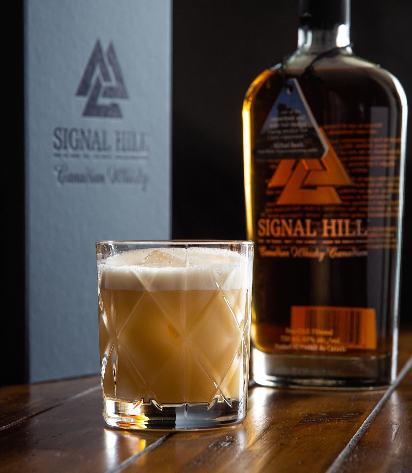 Whisky-Beer Sour