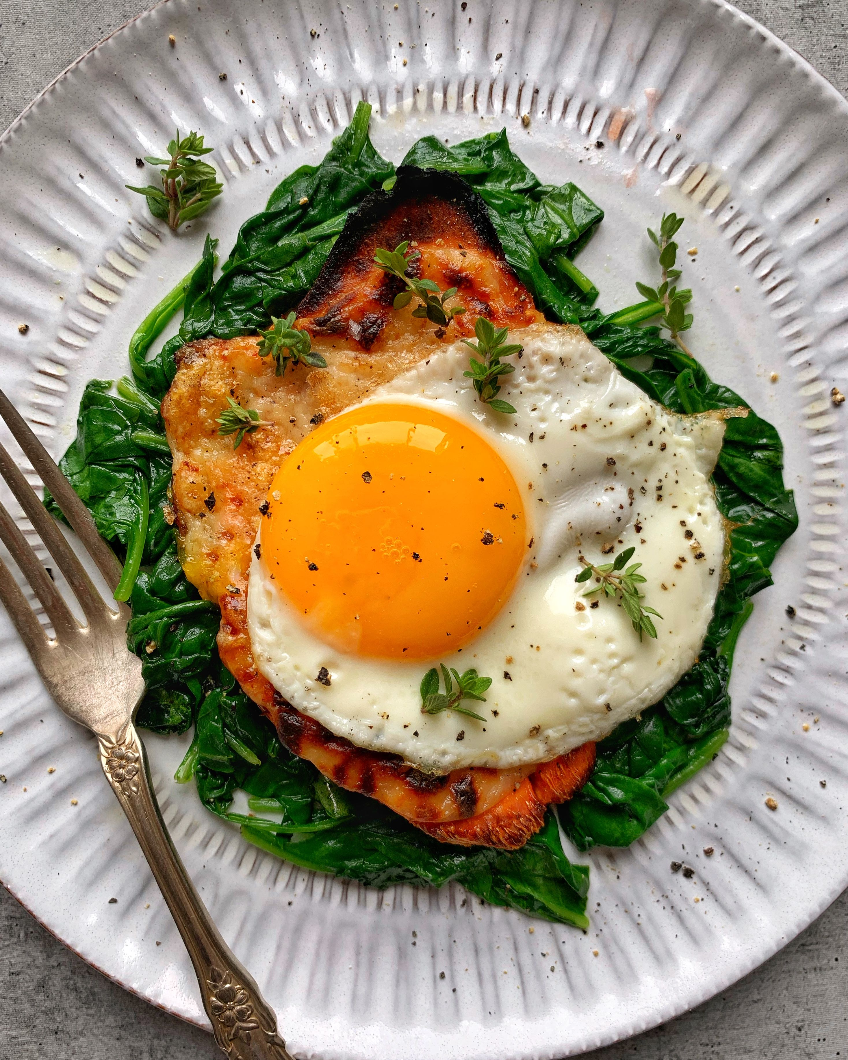 Sweet Potato Croque Madame