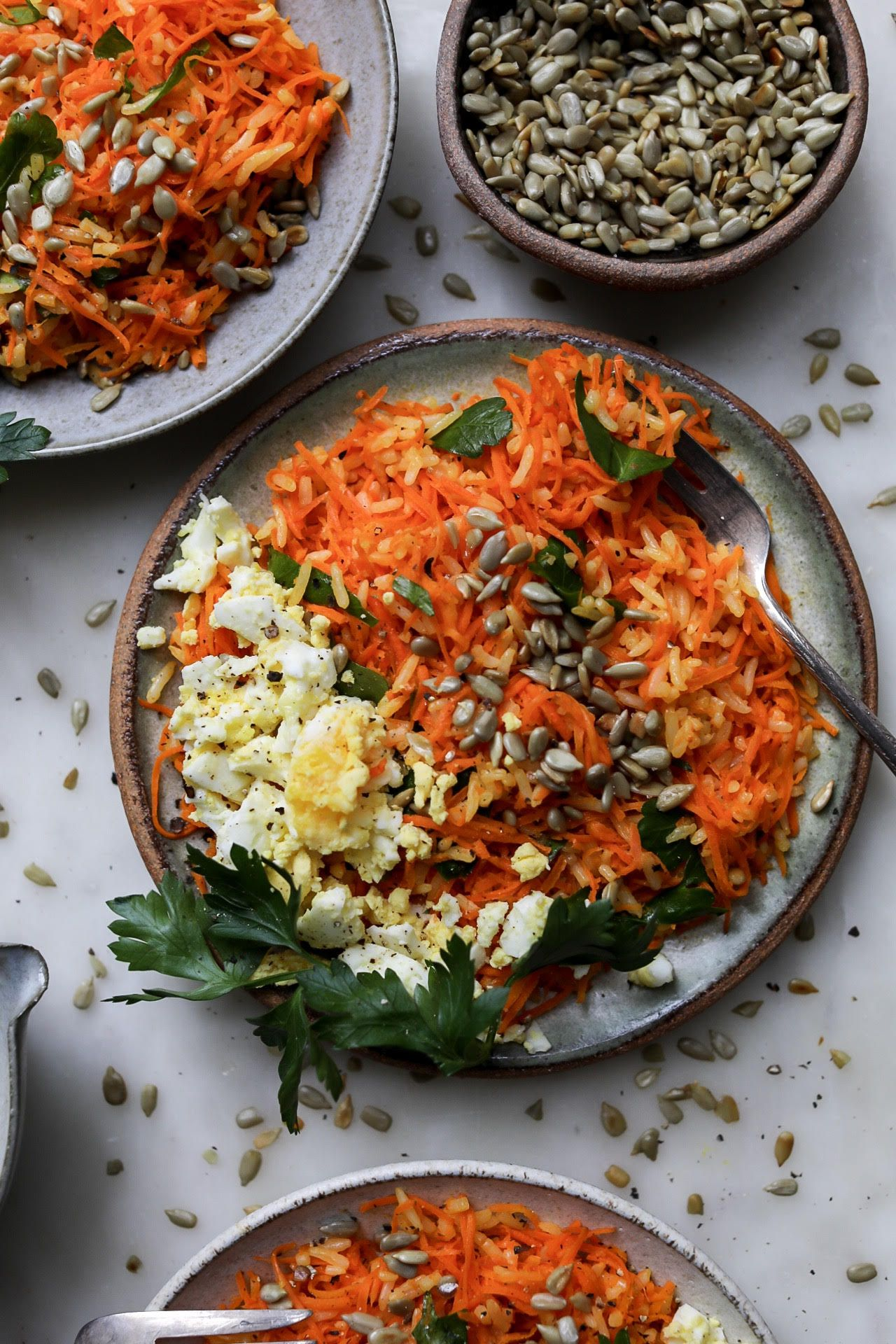 Carrot and Rice Salad