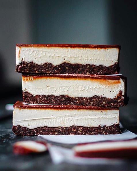 Cocoa Vanilla Squares
