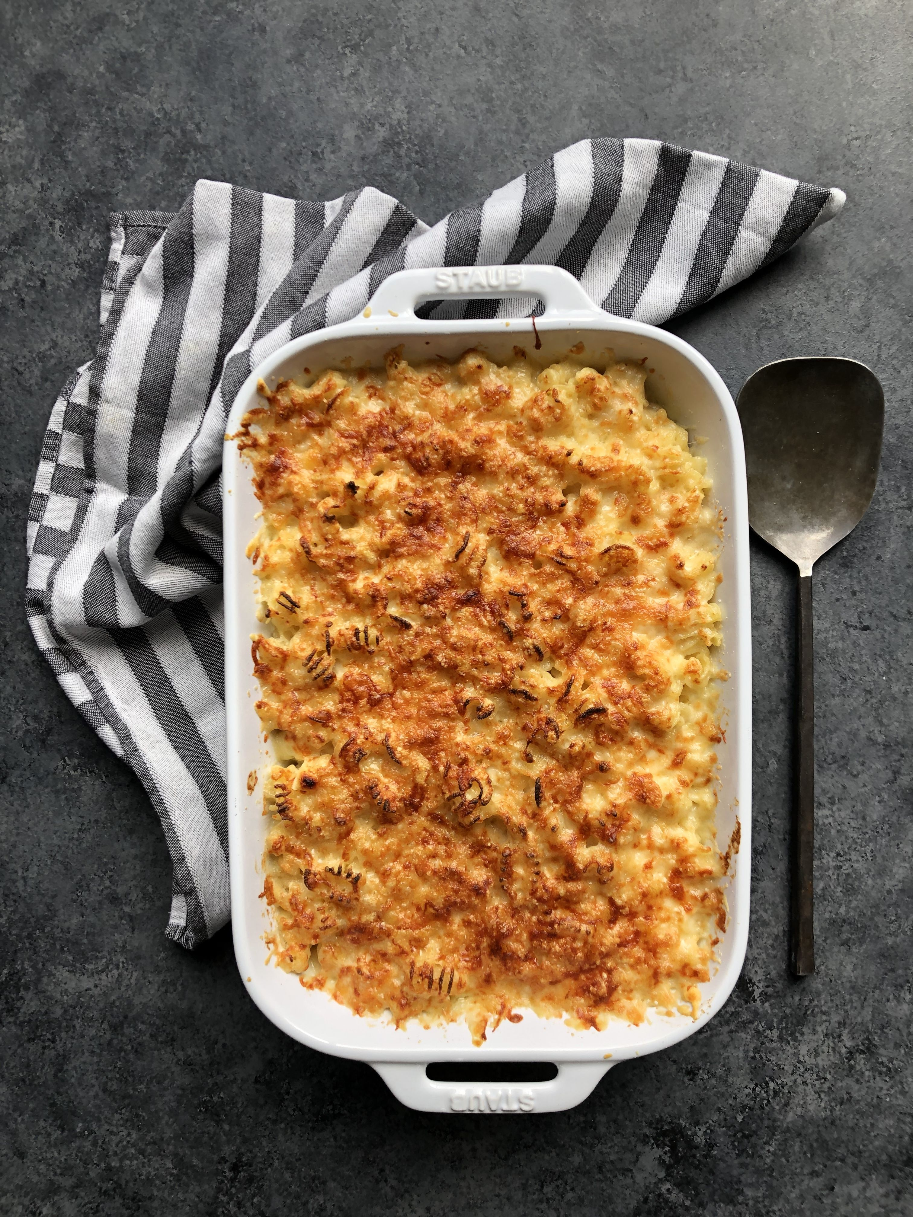 Crispy Baked Mac and Cheese