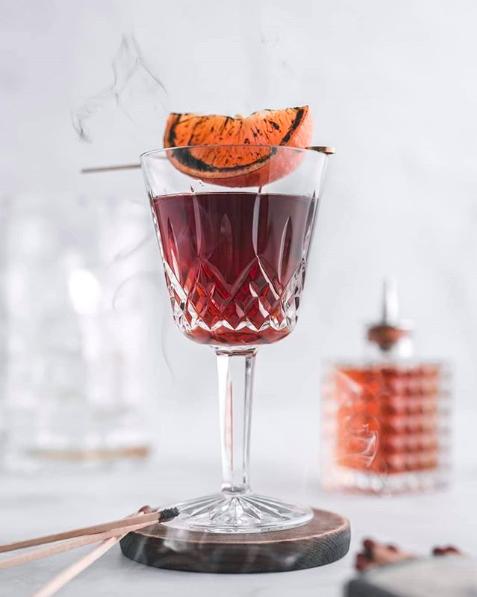 Burnt Orange Cocktail