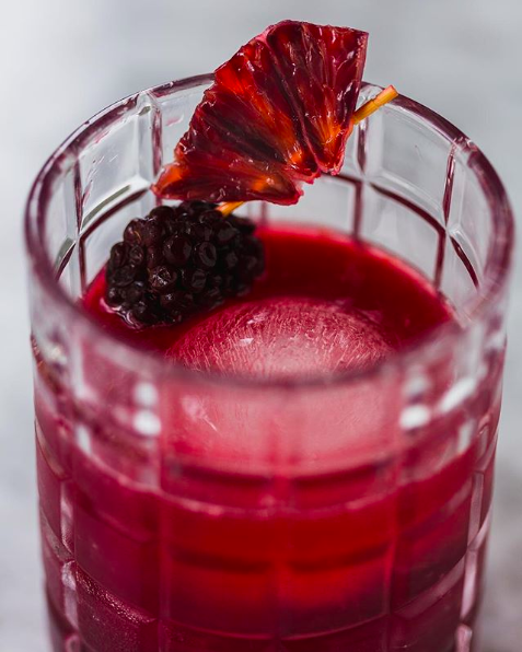 Blackberry Blood Orange Bourbon