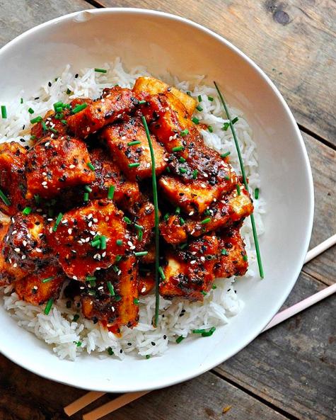Crispy BBQ Tofu