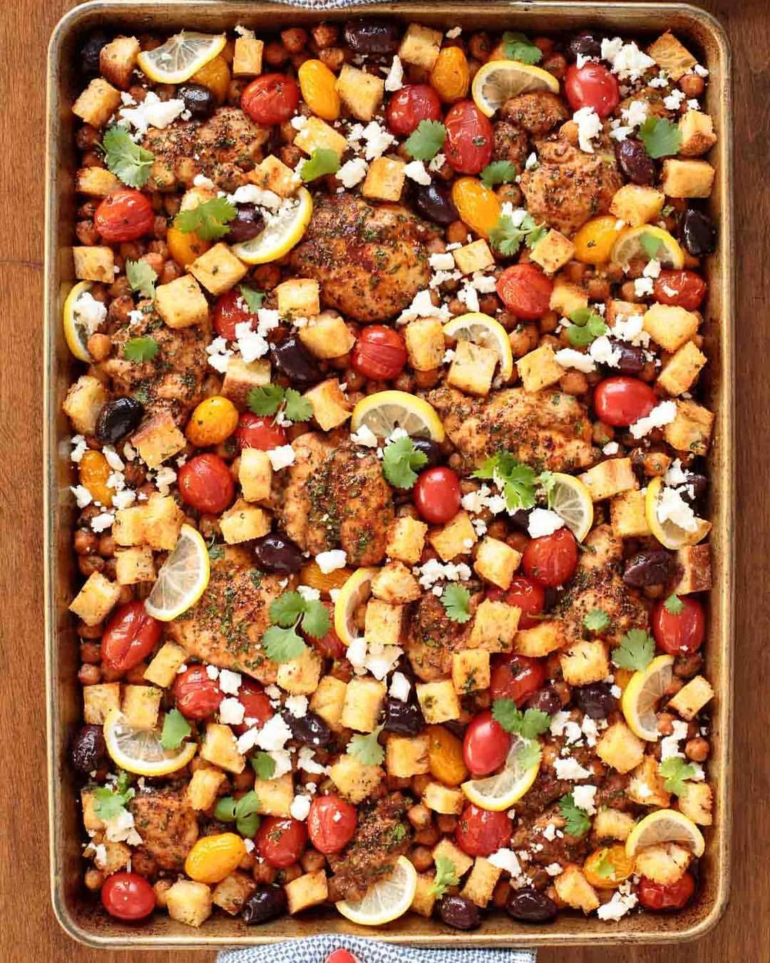 Mediterranean Chicken with Vegetables