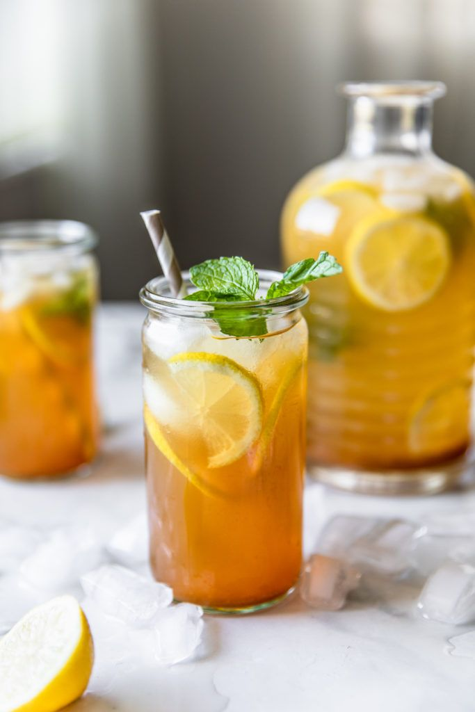 Lemon Iced Tea By Delight Fuel Quick Easy Recipe The Feedfeed