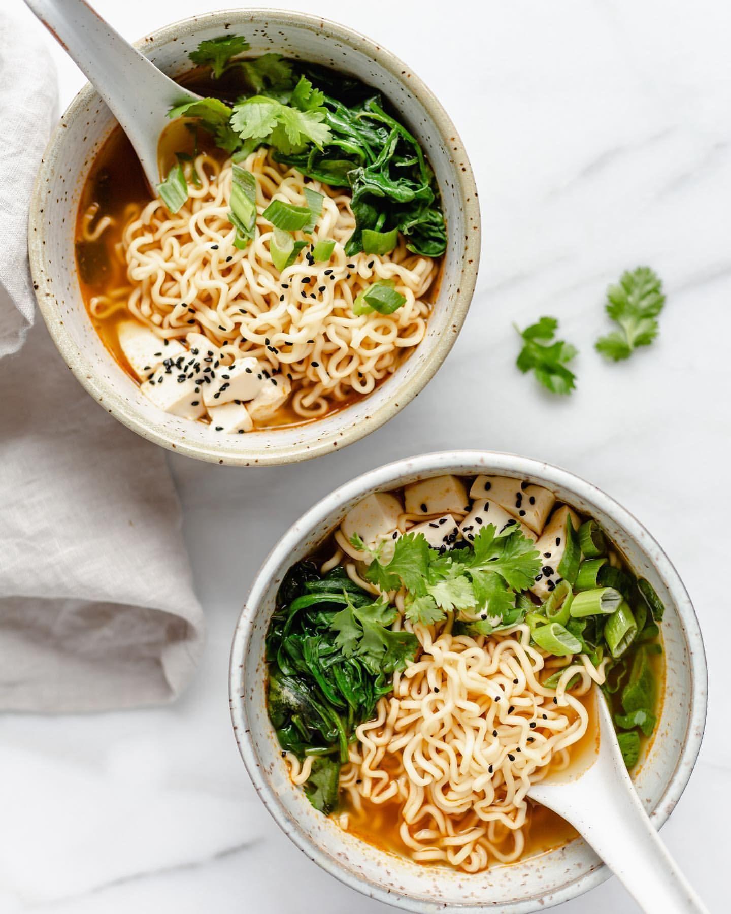 Ramen Tofu Bowl