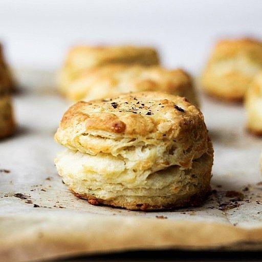 Sage Pecorino Buttermilk Biscuits