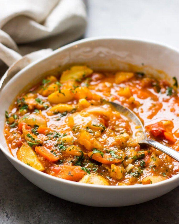 Butternut Squash and Chicken stew