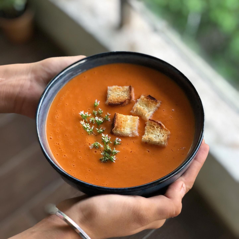 Basic Tomato Gazpacho